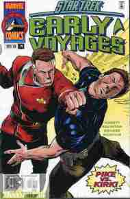 """Yesterday's"" Comic> Star Trek: Early Voyages #14"