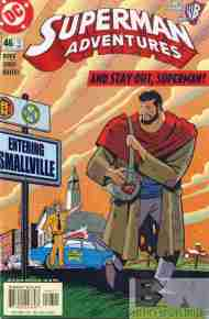 """Yesterday's"" Comic> Superman Adventures #46"