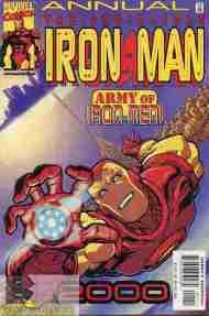 """Yesterday's"" Comic> Iron Man Annual2000"
