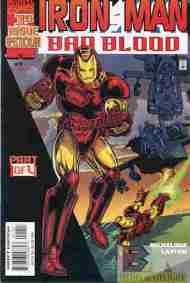 """Yesterday's"" Comic> Iron Man: Bad Blood#1"