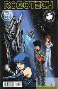 """Yesterday's"" Comic> Robotech #2 (Antarctic Press)"