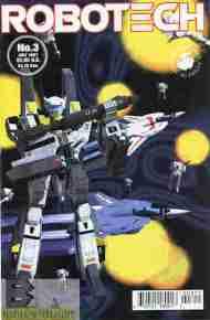 """Yesterday's"" Comic> Robotech #3 (AntarcticPress)"