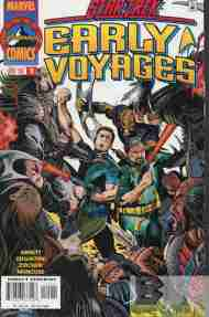 """Yesterday's"" Comic> Star Trek: Early Voyages #15"