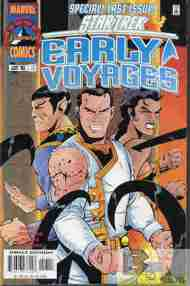 """""""Yesterday's"""" Comic> Star Trek: Early Voyages#17"""
