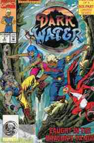 """""""Yesterday's"""" Comic> The Pirates Of Dark Water#2"""