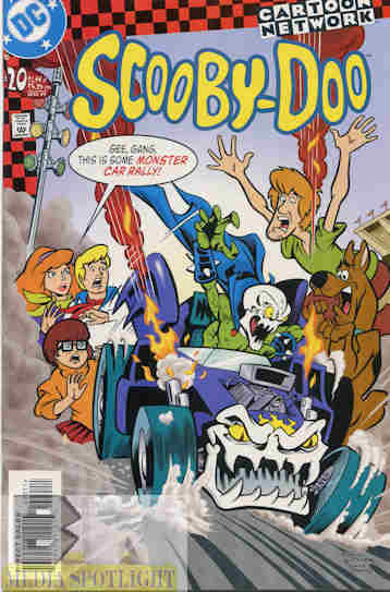 Yesterday S Comic Scooby Doo 20 Dc Bw Media Spotlight